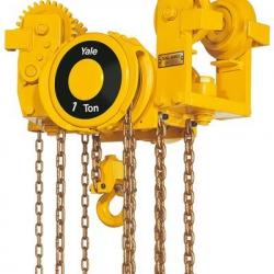 Wciągarka łańcuchowa ręczna Yalelift VLRP i VLRG