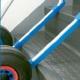 Wózek aluminiowy 2 kołowy Expresso - wyk. standardowe