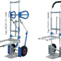 Wózek aluminiowy Express - do transportu krzeseł