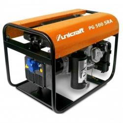 Unicraft PG 500 SRA - Agregat prądotwórczy jednofazowy o mocy 3,9 kW.