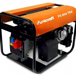 Unicraft PG 800 TRA - agregat prądotwórczy 230/400 V o mocy 3,7/5,6 kW