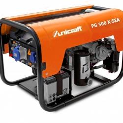 Unicraft PG 500 X-SEA - agregat prądotwórczy 230 V o mocy 4,0kW.