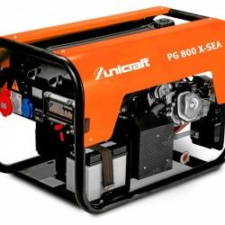 Unicraft PG 800 X-SEA - Agregat prądotwórczy 230V o mocy 4,0 kW