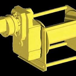Wciągarki pneumatyczne ogólnego zastosowania Seria A i F