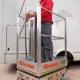 Podnośnik osobowy przemiszany ręcznie ELEVAH 50F wys.pracy 5,10m