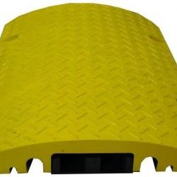 Najazd kablowy z wkładką - żółty