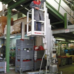 Platforma podnośnikowa przemieszczana ręcznie Seria ZP wys. pracy do 14.0 m