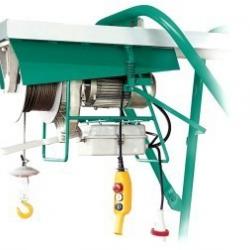 Wciągarka budowlana BS 500, magnetyczne hamowanie, udźwig 500 kg, lina 31m