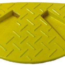 Próg zwalniający końcowy - żółty