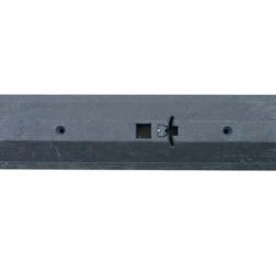 Próg prowadzący 1095 x 90 x 248 mm - czarny