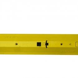 Próg prowadzący 1095 x 90 x 248 mm - żółty