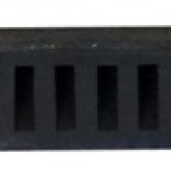 Próg parkingowy, samochodowy - 780 x 60 x 80 mm - czarny