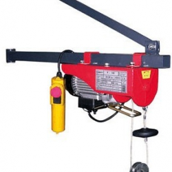 Mini Minor M-100 - Lekka i kompaktowa wciągarka budowlana, linowa elektryczna