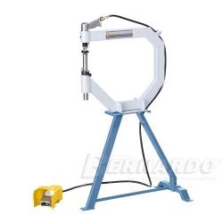 Giętarka do blachy - Angielskie koło, pneumatyczne urządzenie do polerowania i spęczania, model PGH 500