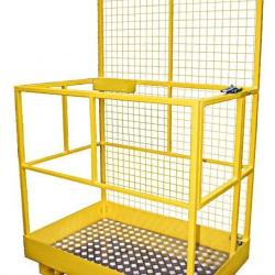 Platforma robocza do wózka widłowego