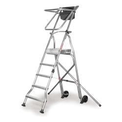 Lekka Składana Drabina Magazynowa Aluminiowa - Model PL