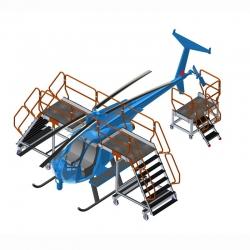 Platforma do obsługi helikopterów