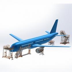 Platforma do obsługi samolotów pasażerskich
