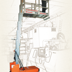 ELEVAH PKS 920 - Samojezdny podnośnik dla 2 operatorów, wys max 9,2m