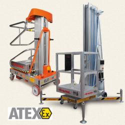Elevah  Speciale Atex - platforma samojezdna
