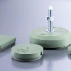 Wibroizolatory talerzowe seria BNSH, BNRS, BNR, BNV