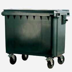 Pojemniki na odpady komunalne 4 kołowe