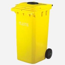 Pojemniki do sergeracji śmieci 2 kołowe
