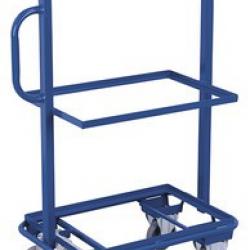 Wózek na skrzynki 3 półki bez płyty