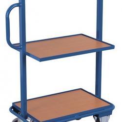 Wózek na skrzynki, 3 półki