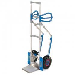 Wózek aluminiowy dwukołowy EXPRESSO - wyk. standardowe, udźwig 300 kg