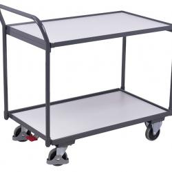 Wózek ESD przewodzący ładunki, 2 powierzchnie, udźwig 250 kg, 2 modele