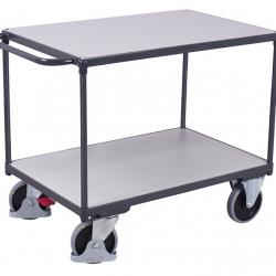 Wózek ESD przewodzący ładunki, 4 modele,  udźwig do 500 kg