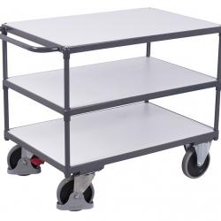 Antystatyczny wózek na ładunki, 3 powierzchnie, 4 modele, 500 kg udźwig