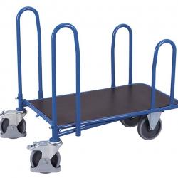 Wózek sklepowy do długich materiałów budowlanych, 500 kg udźwig