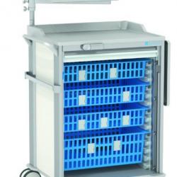 Wózek szpitalny na leki MPO typ 2