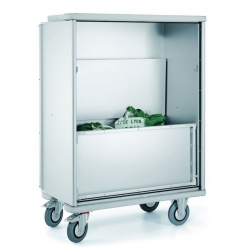 Wózek-szpitalny szafka na bieliznę, model W 105 N