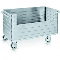 Wózek szpitalny do transportu przedmiotów, model W 172 N, udźwig 945 kg