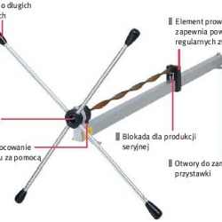 Zwijarka do prętów i płaskowników model 020