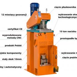 Uniwersalna wykrawarka mimośrodowa UltraPras WKR10 - 10 t nacisku