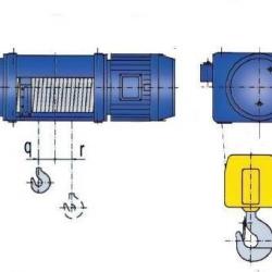 Wciągniki stacjonarne MT - układ l2/1