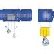 Stacjonarne wciągniki linowe typu MT - układ lin 4/1