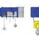 Stacjonarne wciągniki linowe typu M - układ lin 4/1