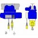 Wciągniki linowe typu MT - układ lin 2/1