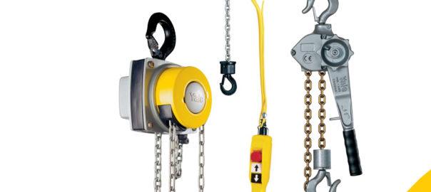 YALE - Wciągniki ręczne i elektryczne - Europejskie Centrum Innowacyjne