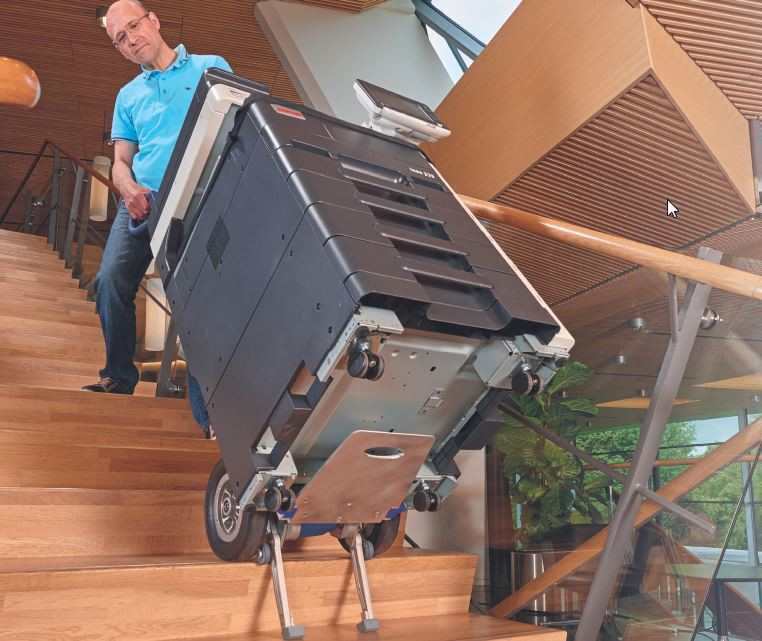 wózki do transportu po schodach