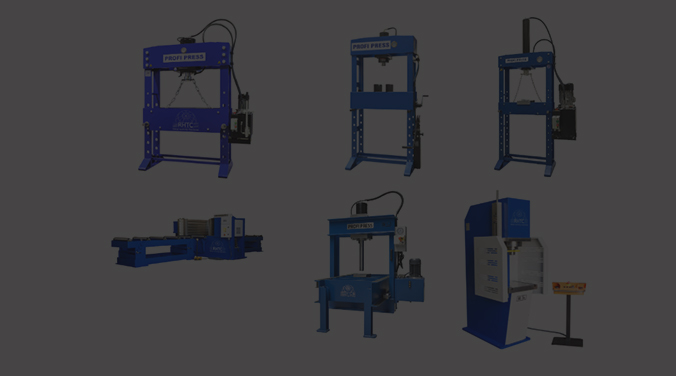 Prasy hydrauliczne warsztatowe - ranking topowych modeli PROFI PRESS