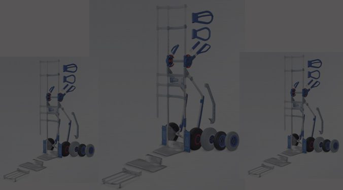 Wózek dwukołowy EXPRESSO aluminiowy