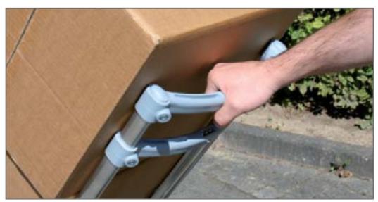 Wózek dwukołowy EXPRESSO aluminiowy. Dlaczego jest tak wyjątkowy3