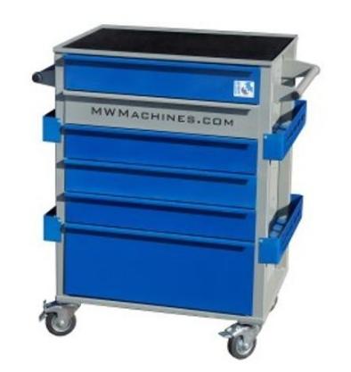 Wózek narzędziowy dla mechanika warsztatu samochodowego