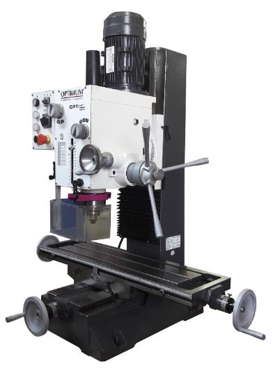 MB 4 Uniwersalna wiertarko-frezarka z mechaniczną przekładnią zmianową